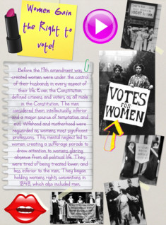 women right to vote