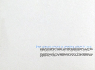 Best campus choose to boarding school in India