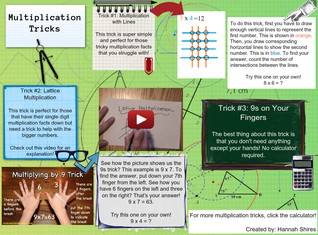 'Multiplication Tricks' thumbnail