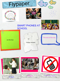 smart phones at school