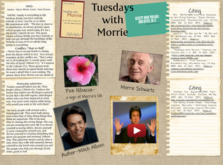 Tuesdays with Morrie - Book GLOG