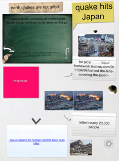 the science poster earht quake