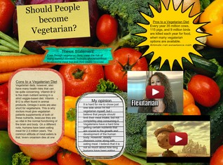 Should People become Vegeterian?