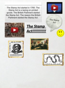 The Finished Glog                                               The Stamp Act's thumbnail