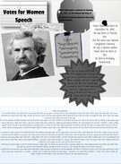 SAIL project: Mark Twain's Votes for Women Speech's thumbnail