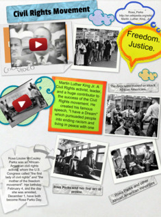 Civil Rights VLog Project.