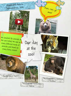 Our day at the zoo!