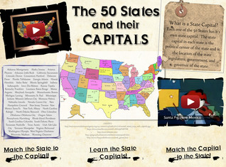50 States and Their Capitals
