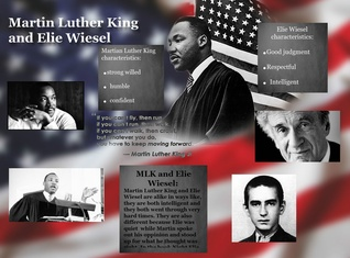 Martin Luther King Jr. and Elie Wiesel