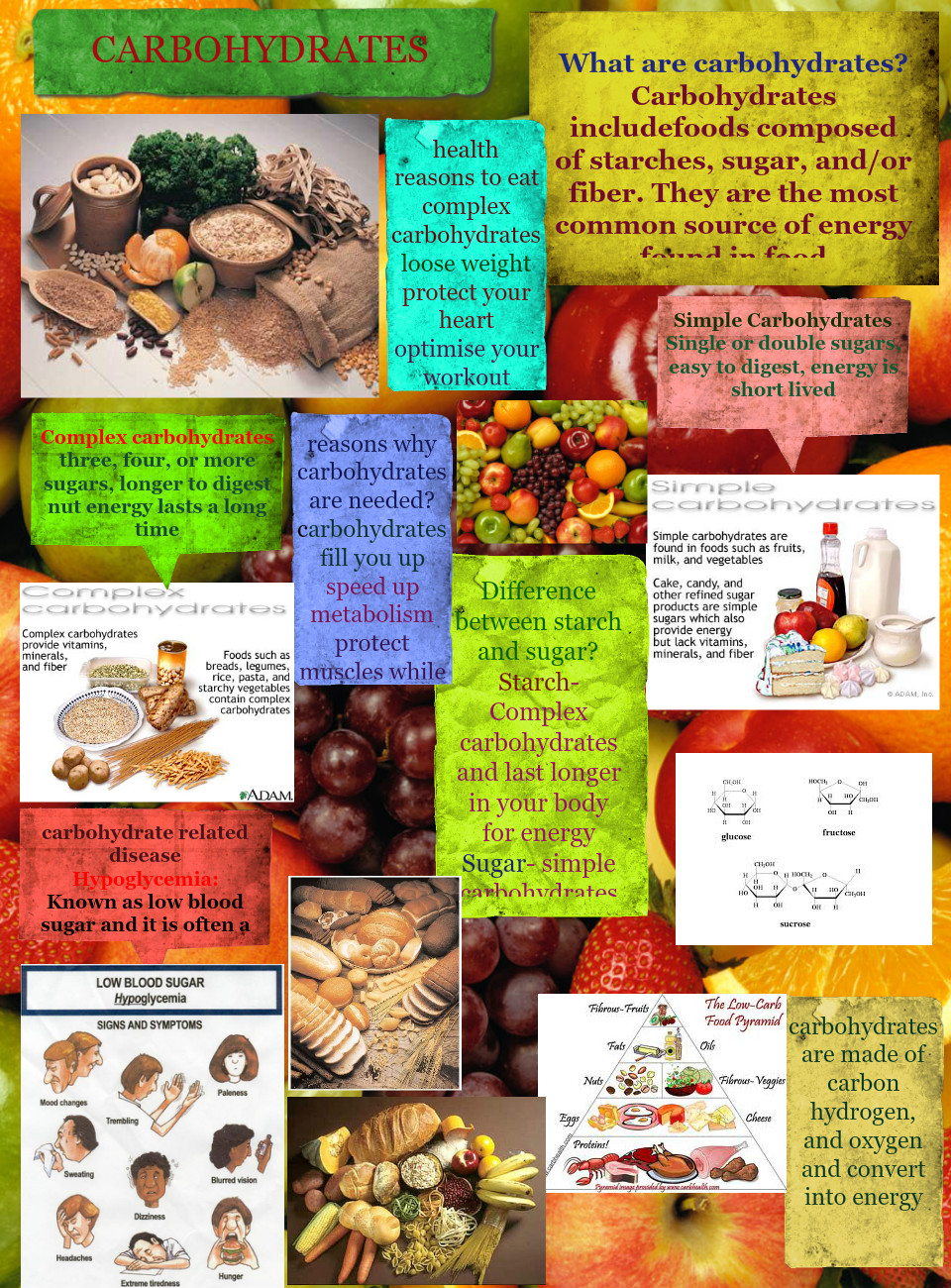 Carbohydrates: carbohydrates, chemistry, en, energy, fitness
