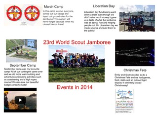 World Scout Jamboree 2014 Events