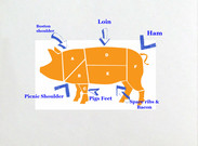 Meats of a pig's thumbnail