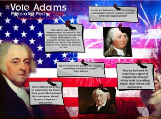 John Adams 1796 election