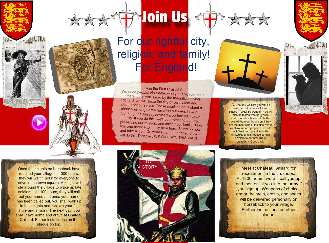 Join the First Crusade
