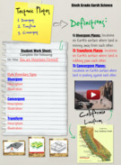 Plate Tectonics with worksheet's thumbnail