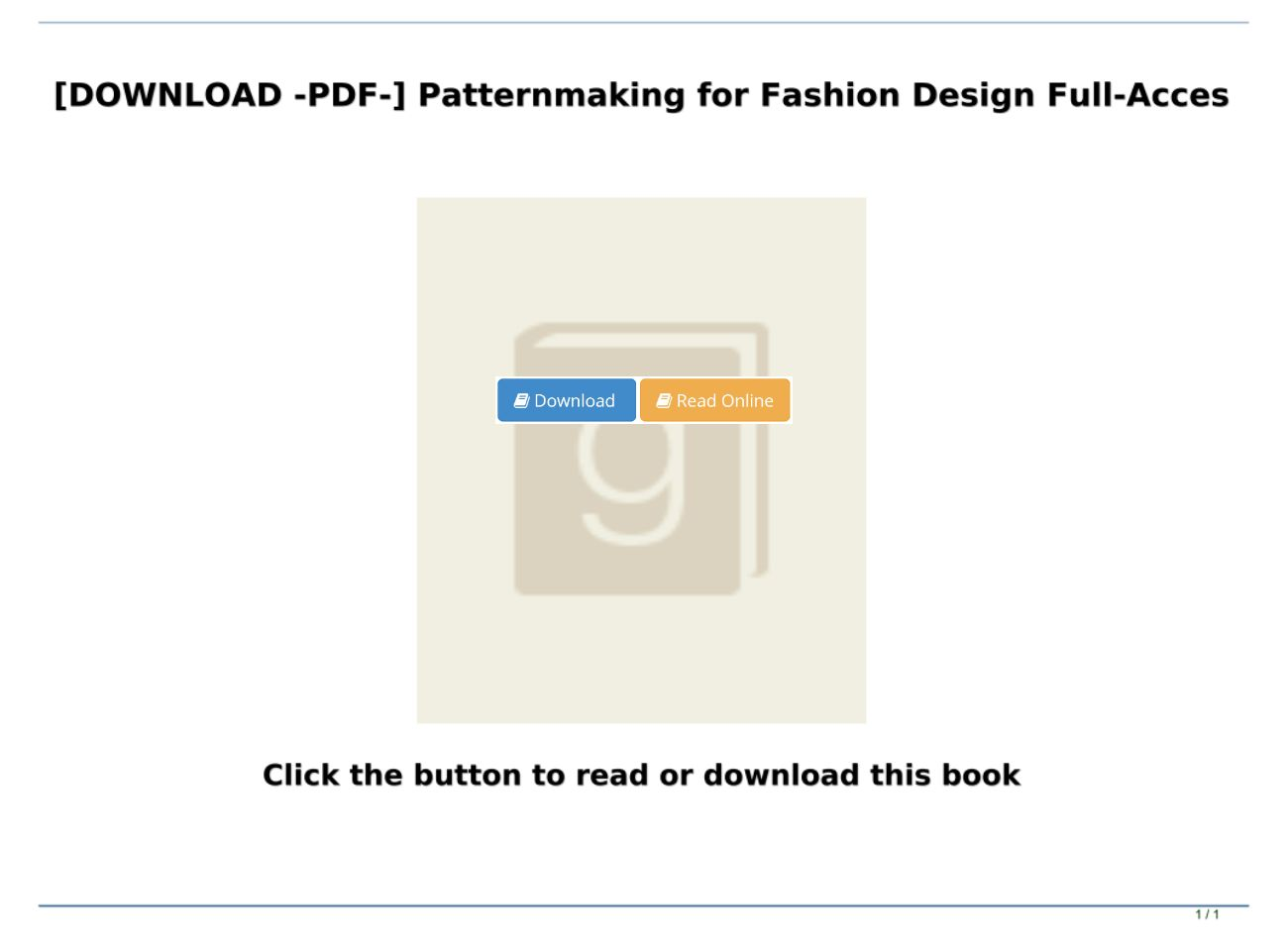 Download Pdf Patternmaking For Fashion Design Full Acces Text Images Music Video Glogster Edu Interactive Multimedia Posters