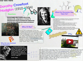 Dorothy Hodgkin's: The Chemist Who Discovered Molecular Structures in X-Ray Crystallography