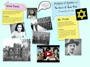 Analysis of Quotes from The Diary of Anne Frank's thumbnail