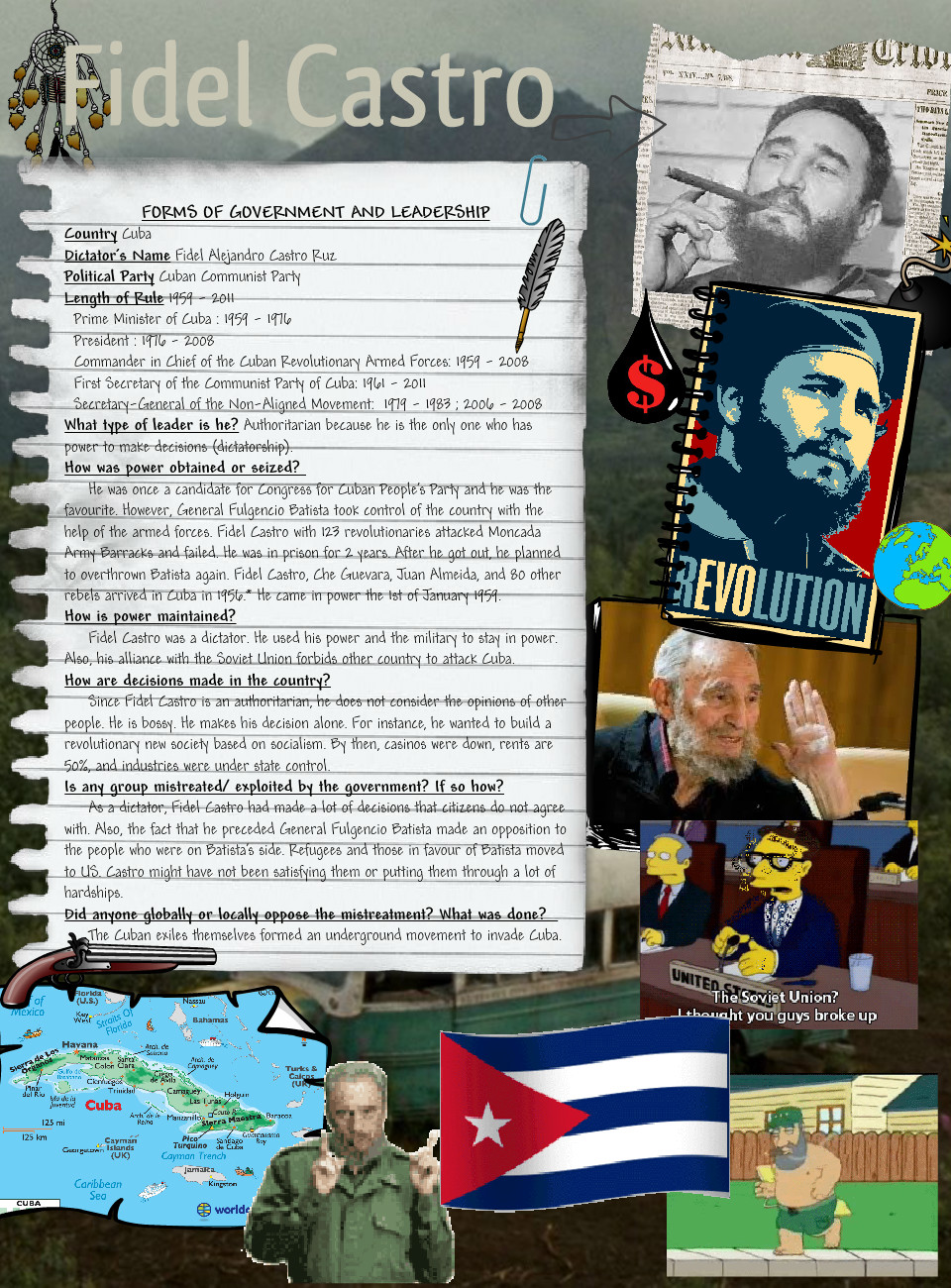 Forms of Government and Leadership: Fidel Castro
