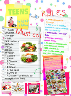 Healthy Eating For Teens