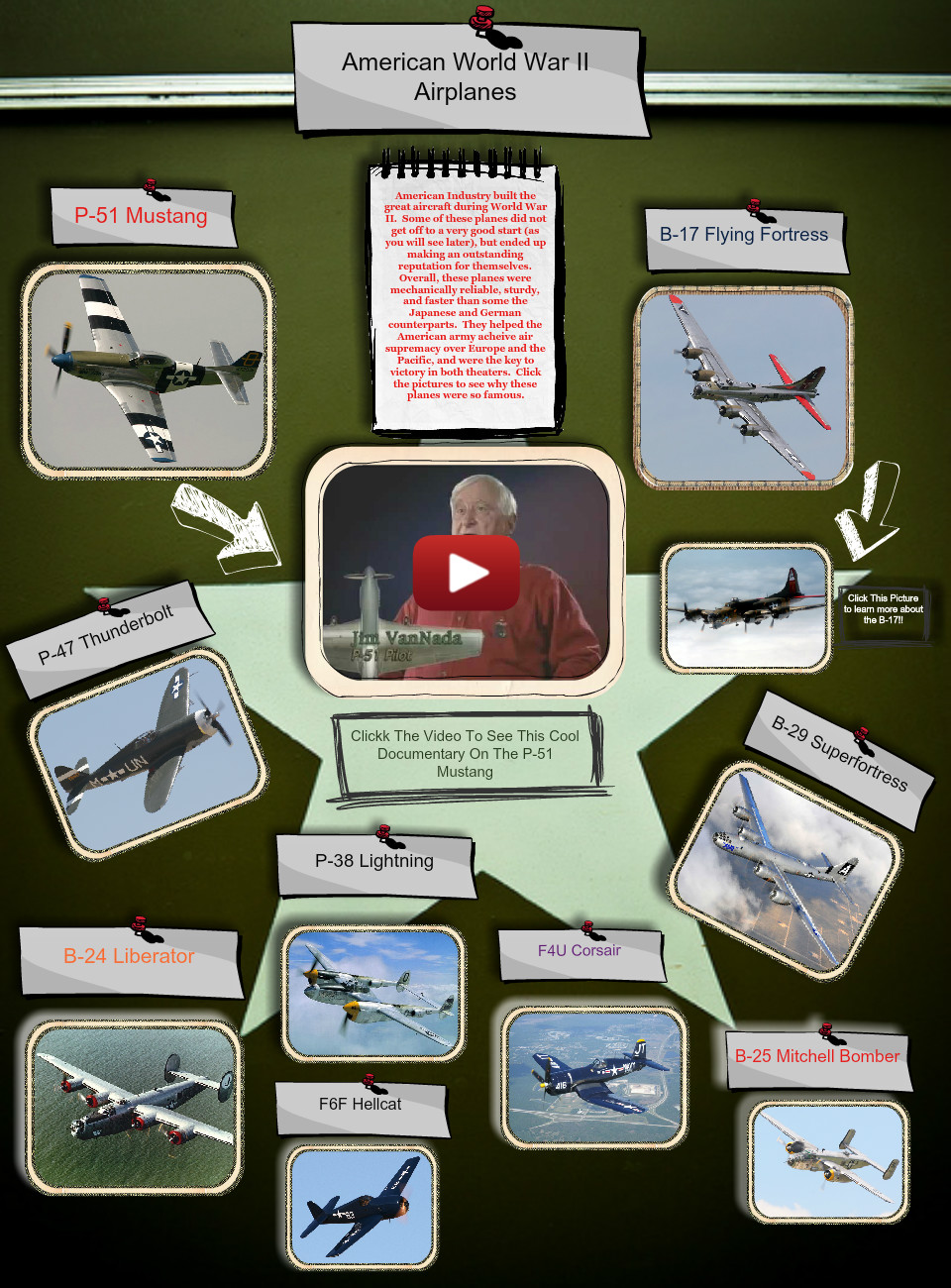 WWII Airplanes