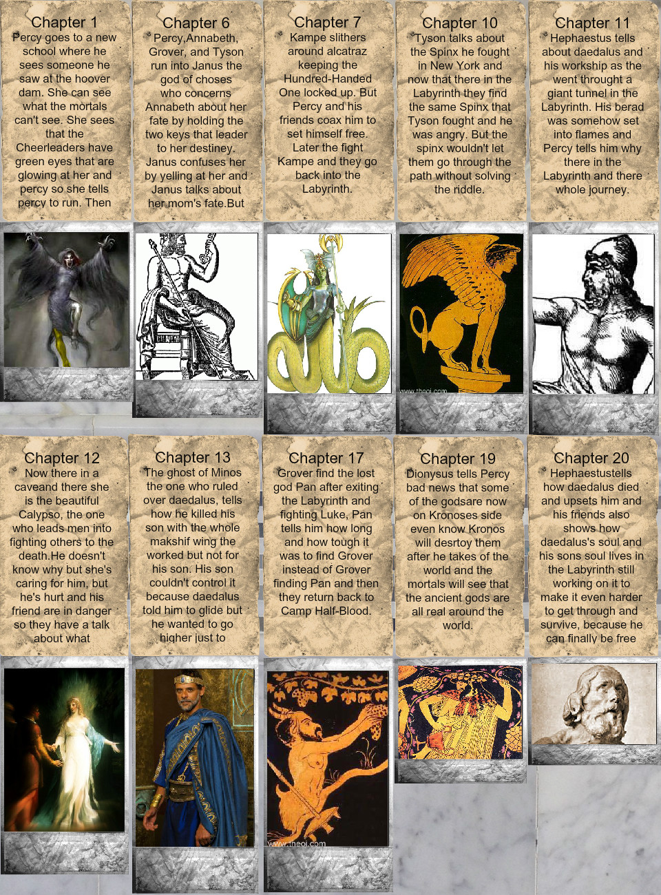 Percy Jackson The Battle Of The Labyrinth Text Images
