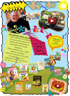 Marc Brown- Author Study