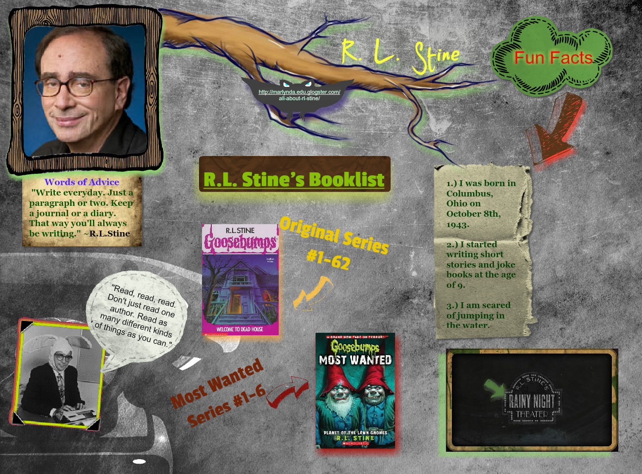 All about R.L. Stine