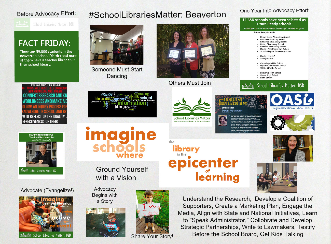 [2015] Dawn Prochovnic: School Libraries Matter: Beaverton