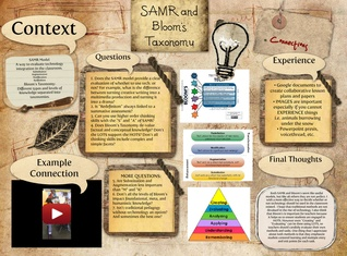 SAMR and Blooms Taxonomy