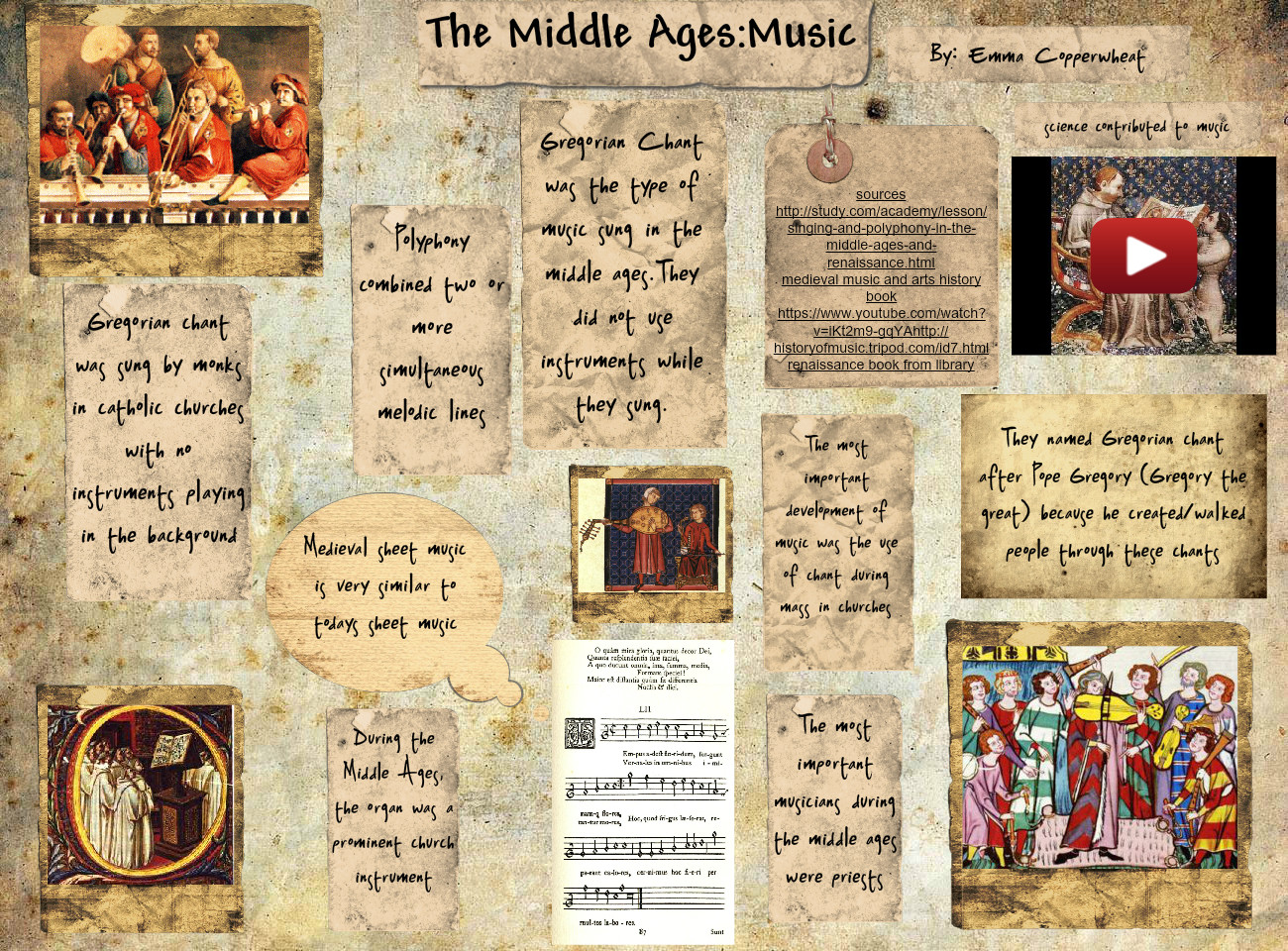 The Middle Age Music