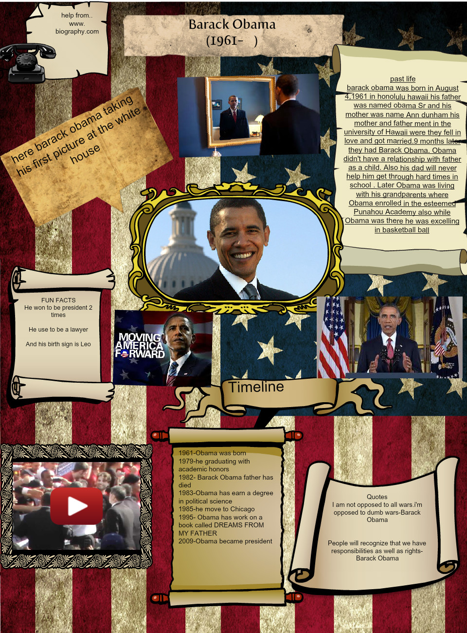 [2014] amy saldana (2nd period): Barack Obama