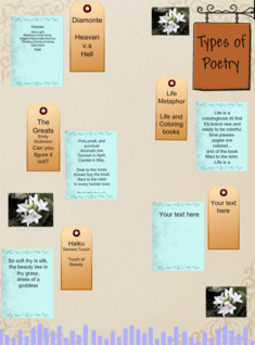 Types of Poetry by Hanna Navis