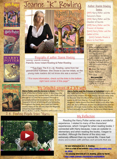 Author Study - J. K. Rowling