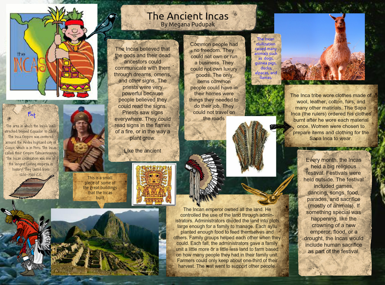 The Ancient Inca