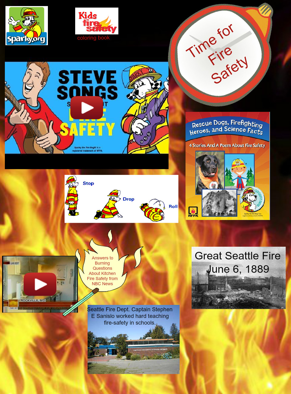 Fire Safety Week Glog