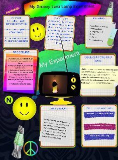 Groovy Science Fair Project: Science Fair   Glogster EDU   Interactive  Multimedia Posters
