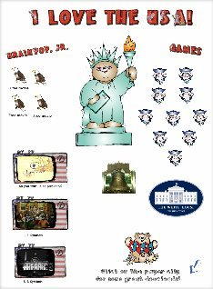 US Symbols and Presidents