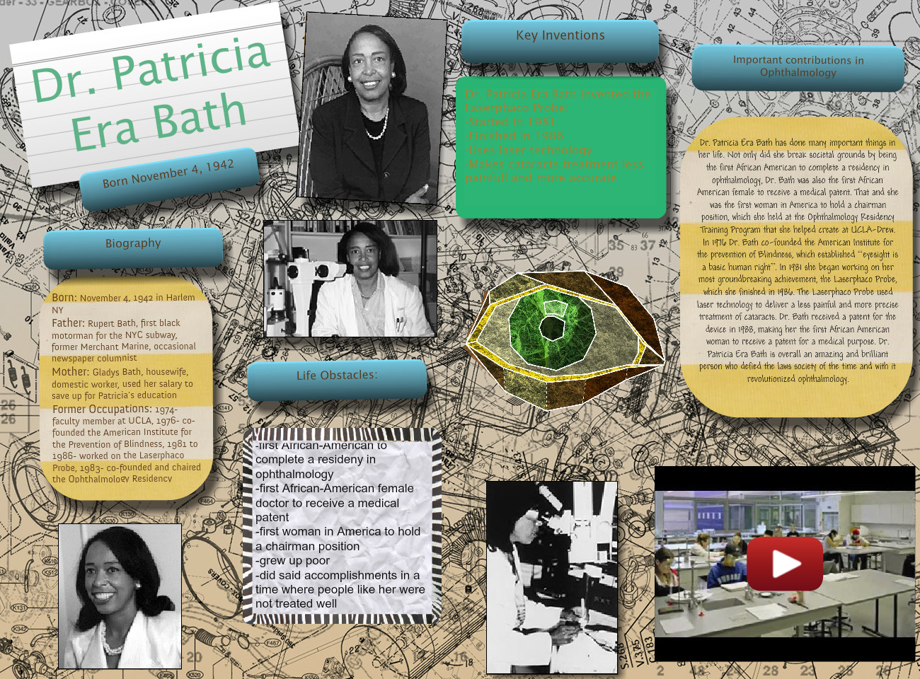 Dr  Patricia Bath: bath, biographies, en, Én, én, era