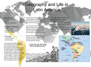 Geography And Life In Latin America