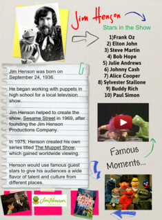 Jim Henson Tribute blog