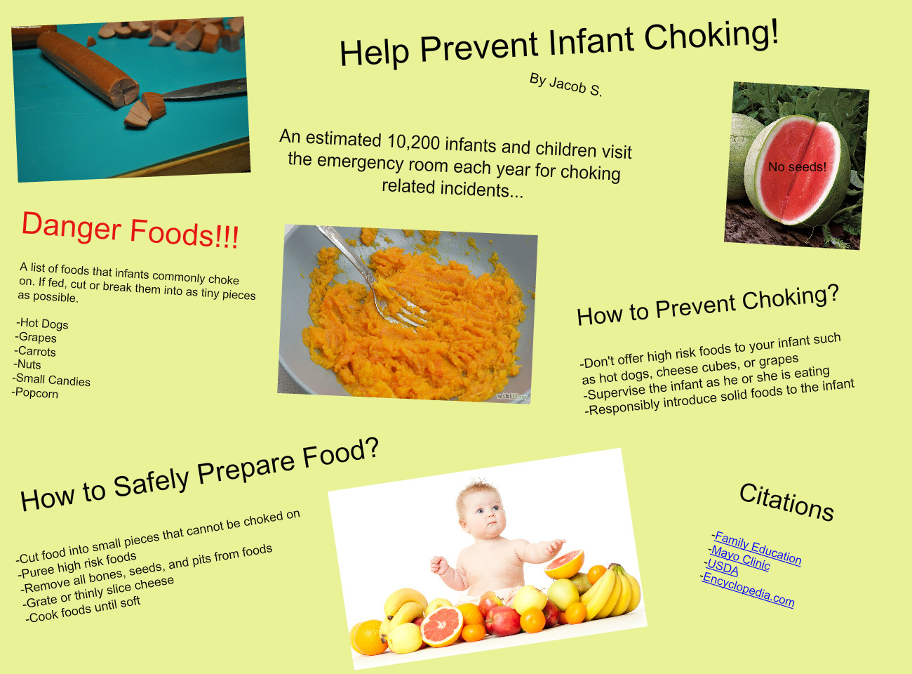 Help Prevent Infant Choking! - Jacob S.