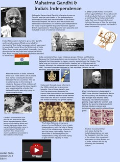 Mahatma Gandhi and India´s Independence