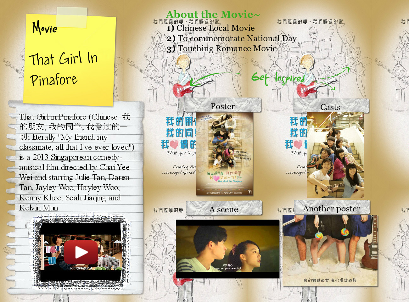 That Girl In Pinafore- Movie