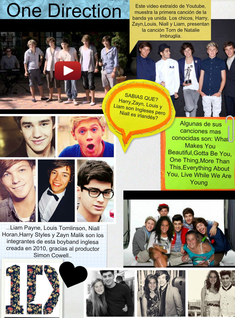 Glongster One Direction