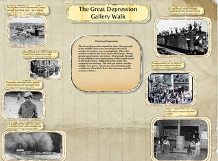Great Depression Gallery Walk