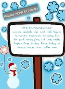 Winter Vocabulary's thumbnail