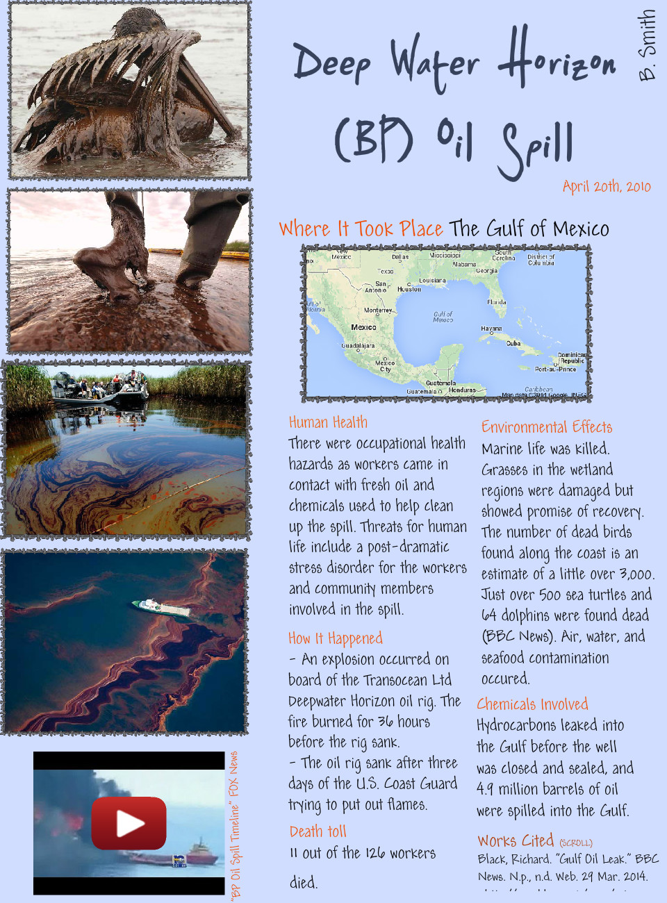 Deep Water Horizon (BP) Oil Spill