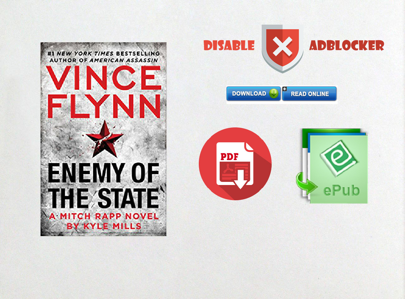 recipe: enemy of the state (a mitch rapp novel) [37]
