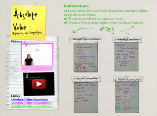 'Absolute Value Equations and Inequalities' thumbnail